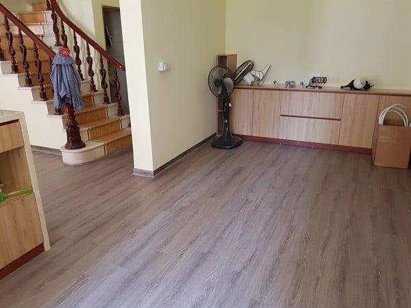Các công trình sàn nhựa giả gỗ cho nhà ở, chung cư do SanF thi công