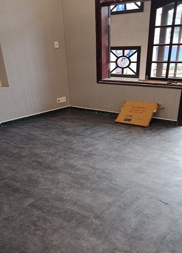 Công trình thi công sàn nhựa giả bê tông 3205