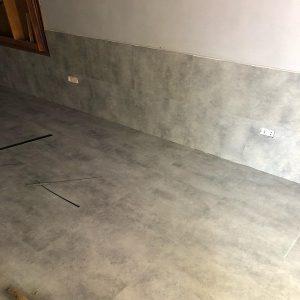 Công trình sàn vinyl giả bê tông 3206