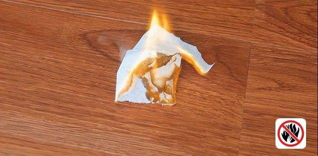 Sàn nhựa chống cháy lan