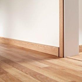 Len chân tường nhựa giả gỗ là gì và được ứng dụng như thế nào?