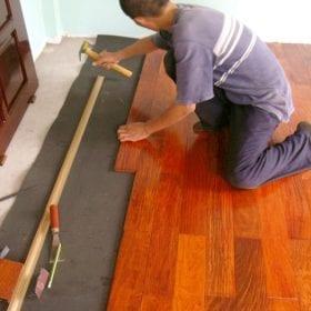 Điểm danh 4 lỗi thường gặp khi thi công sàn nhựa giả gỗ
