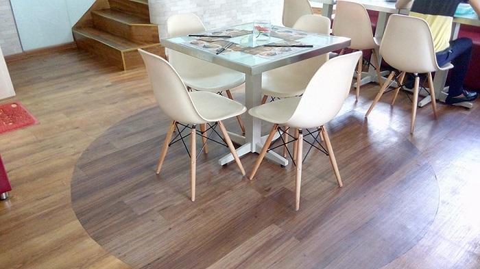 Văn phòng sang trọng hơn với lớp sàn nhựa giả gỗ