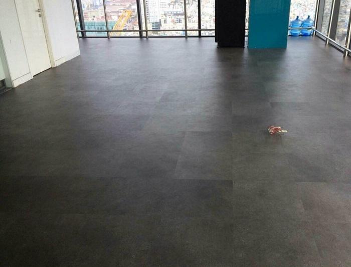 Sàn nhựa giả bê tông đẹp