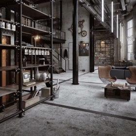 Sàn vinyl giả bê tông - Xu hướng mới trong trang trí nội thất năm 2020