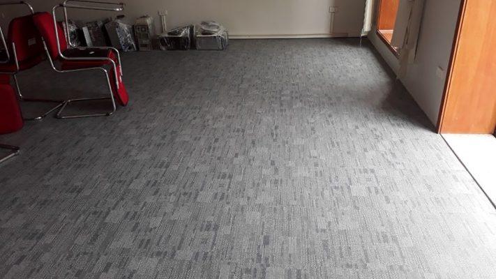 Công trình thi công sàn nhựa vân thảm Galaxy cho văn phòng