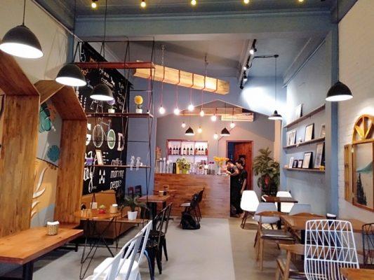 Sàn nhựa cho quán cafe tại Hải Phòng