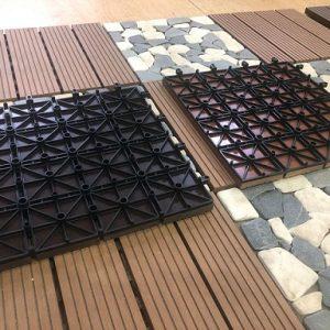 Đế của sàn vỉ gỗ nhựa