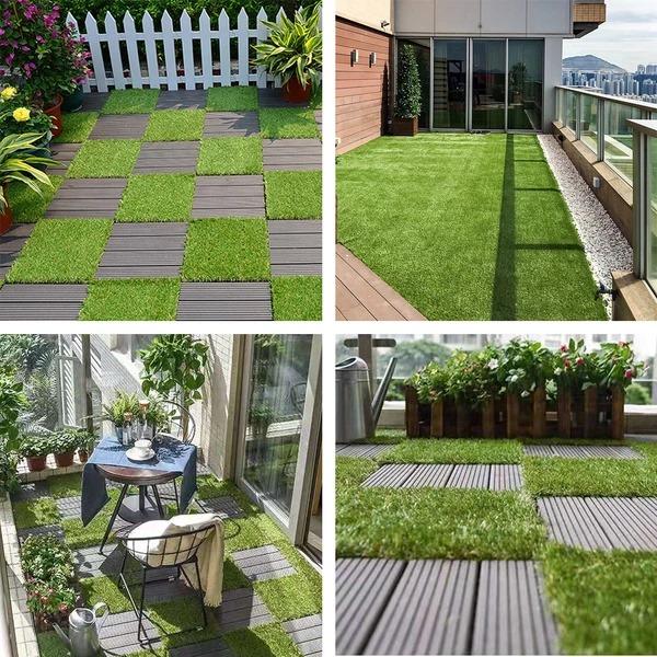 vỉ cỏ nhân tạo sân vườn