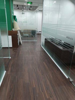 Công trình sàn nhựa cho văn phòng công ty Vietnam tea