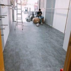 Các công trình sàn nhựa giả bê tông do SanF thi công