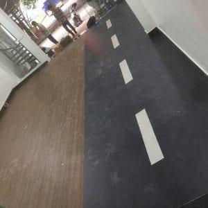 công trình sàn nhựa vân đá 3112